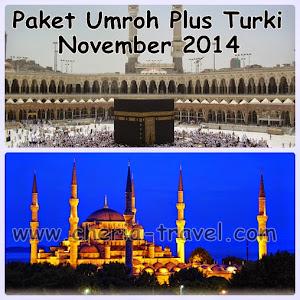 Paket Umroh Plus Turki November 2014