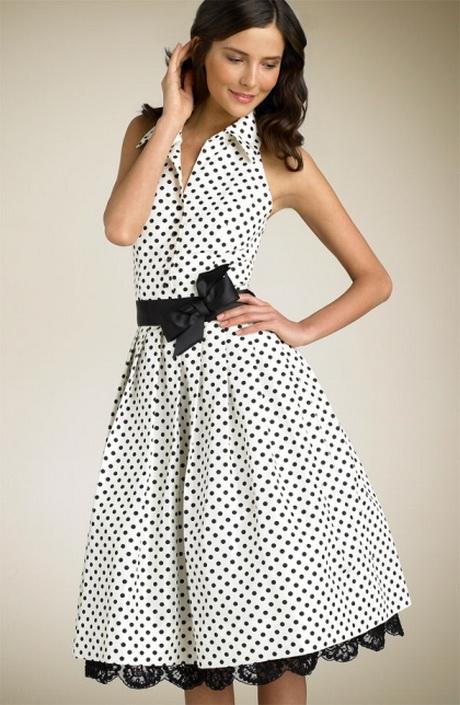 vestido casual con puntos