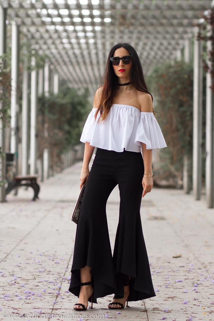 BLogger de moda de Valencia con looks para dias especiales fiesta salir de Zara