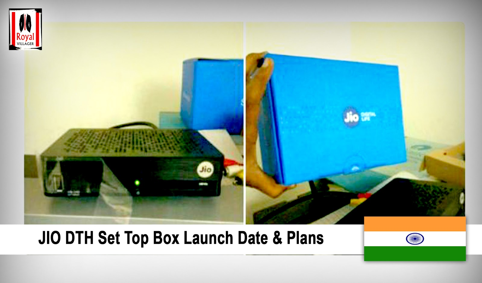 JIO DTH Set Top Box Launch Date & Plans – Online Booking