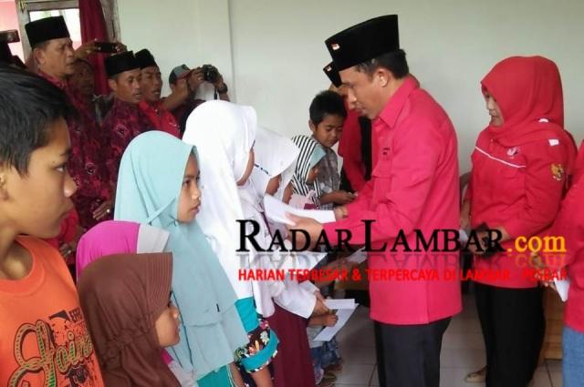 Jelang Pendaftarkan Bacaleg, PDIP Lambar Santuni Anak Yatim