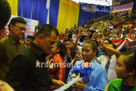 Panglima TNI :'Latihan Serius, Disiplin dan Jiwa Juang Yang Tinggi Lahirkan Prestasi Karate