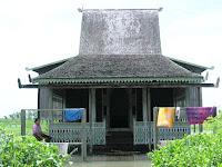 Rumah Bubungan Tinggi, Rumah Adat Kalimantan Selatan