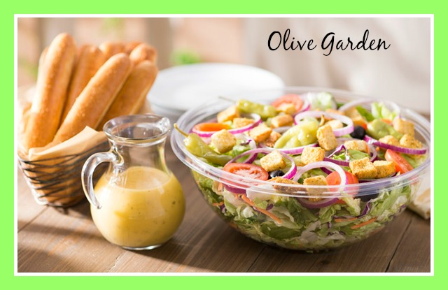 Simply A Rough Draft June - Olive garden house salad
