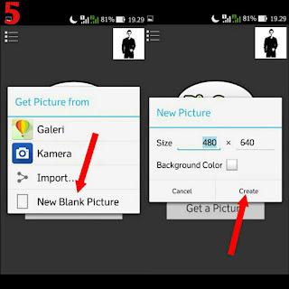 Cara Edit Logo Wajah Galaxy Face Menggunakan PIcsay Pro