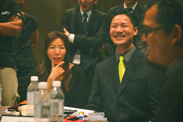 Eupe Corporation Berhad Managing Director, Dato' Beh Huck Lee and his wife