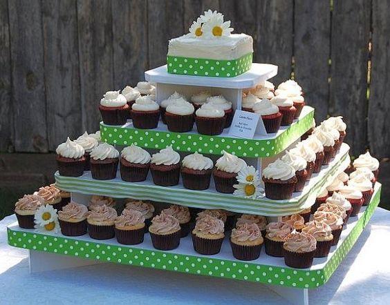 Haz base para bocaditos y cupcakes con cajas recicladas - Bases para cupcakes ...