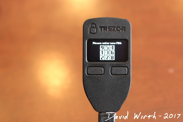 how to trezor pin numbers, how to input