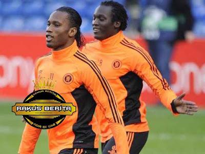 Didier Drogba Dan Romelu Lukaku Di Chelsea