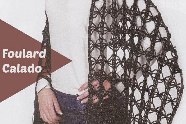 Foulard Calado especial Crochet
