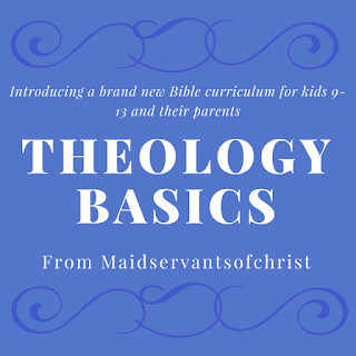 #TheologyIsForKids FREE Theology Curriculum for homeschool, sunday school, or family devotionals!