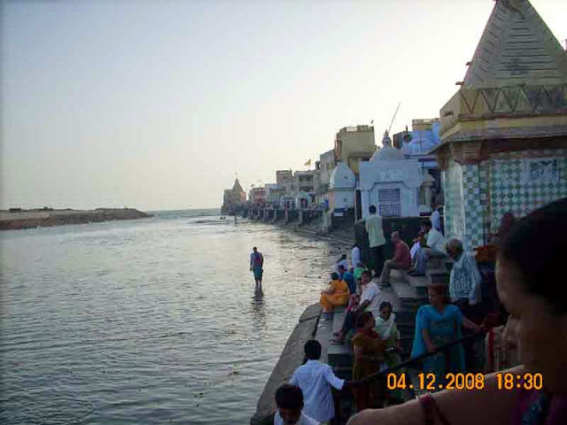 gomti sangam at dwarka gujrat