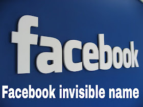 Facebook Invisible Name