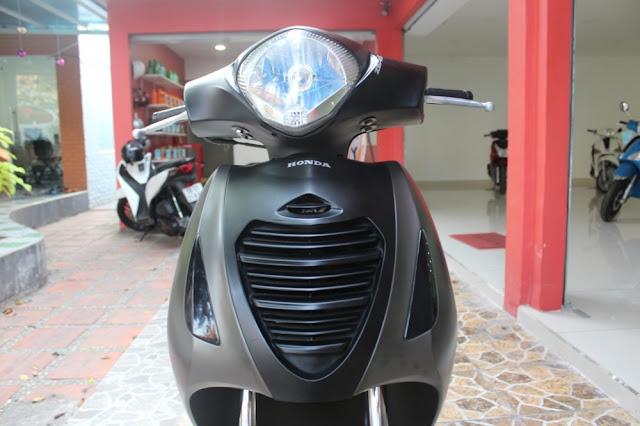Sơn xe Honda PS màu xám nhám
