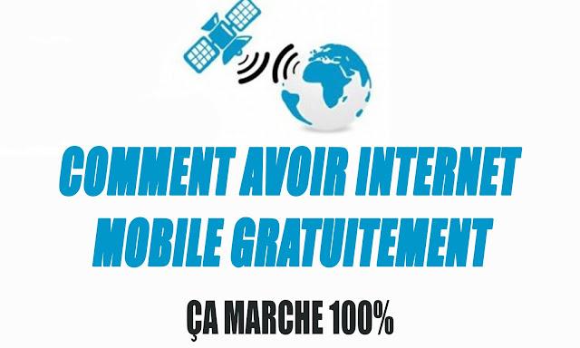 connexion internet gratuit par satellite