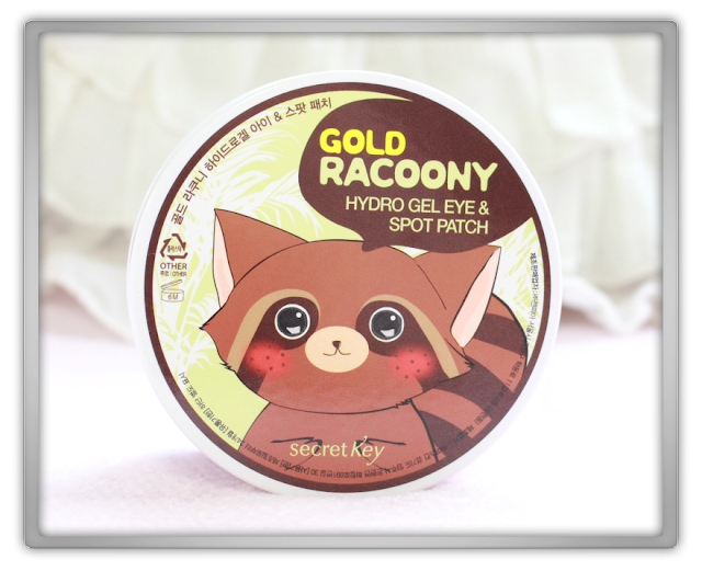 Secret Key Gold Racoony Hydro Gel Eye & Spot Patch Haul Review korean skincare moisture beauty blog blogger yesstyle