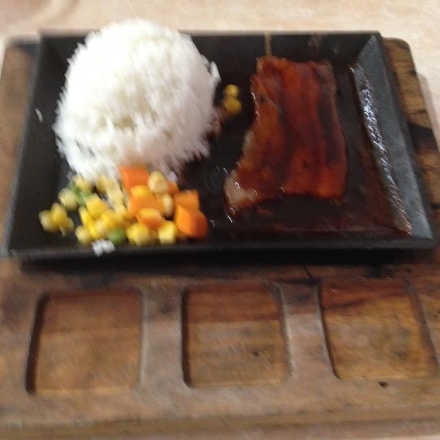 pork belly at Jonie's Flavored Chicken