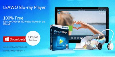 برنامج Leawo لتشغيل الافلام بجودة البلوراي مجانا