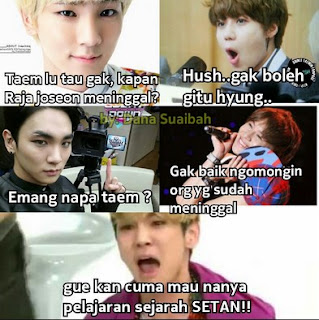 Kumpulan Meme Kocak Exo Top Banget