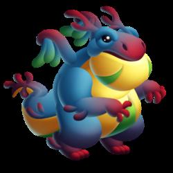 Dragão Peculiar (Jovem)