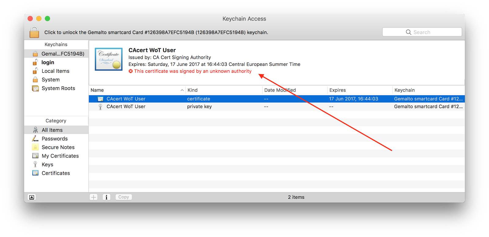 Ludovic Rousseau\'s blog: macOS Sierra and (legacy) smart card login