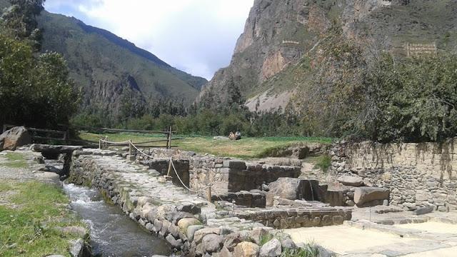 Ollantaytambo, arroyo