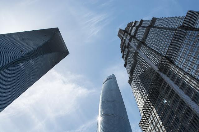 čína, china, šanghaj, shanghai, pudong, skyscrapers, jin mao, SWFC, Shanghai Tower