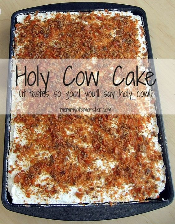 Holy Cow Cake