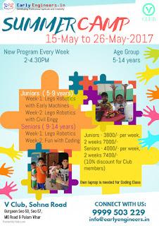 LISTING:SUMMER CAMP @V CLUB TILL 26th May 2017