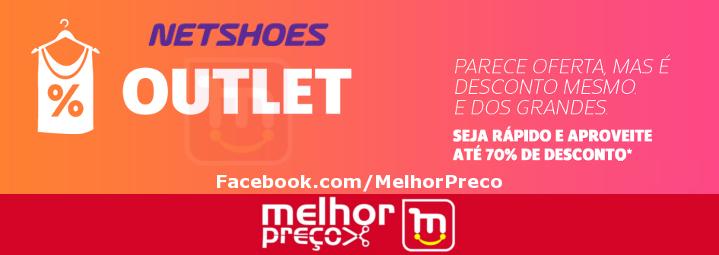 ec3aec6b5e Outlet Netshoes + Cupom de 12%