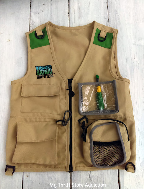 Explorer vest for kids