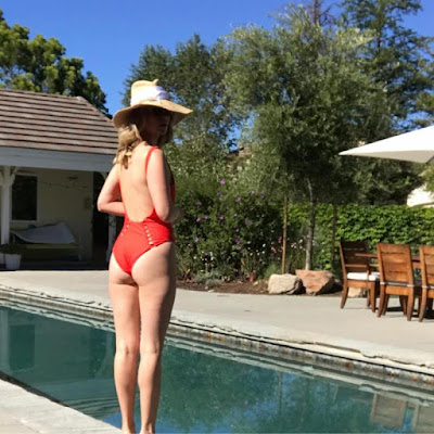 January Jones Swimwear Photo