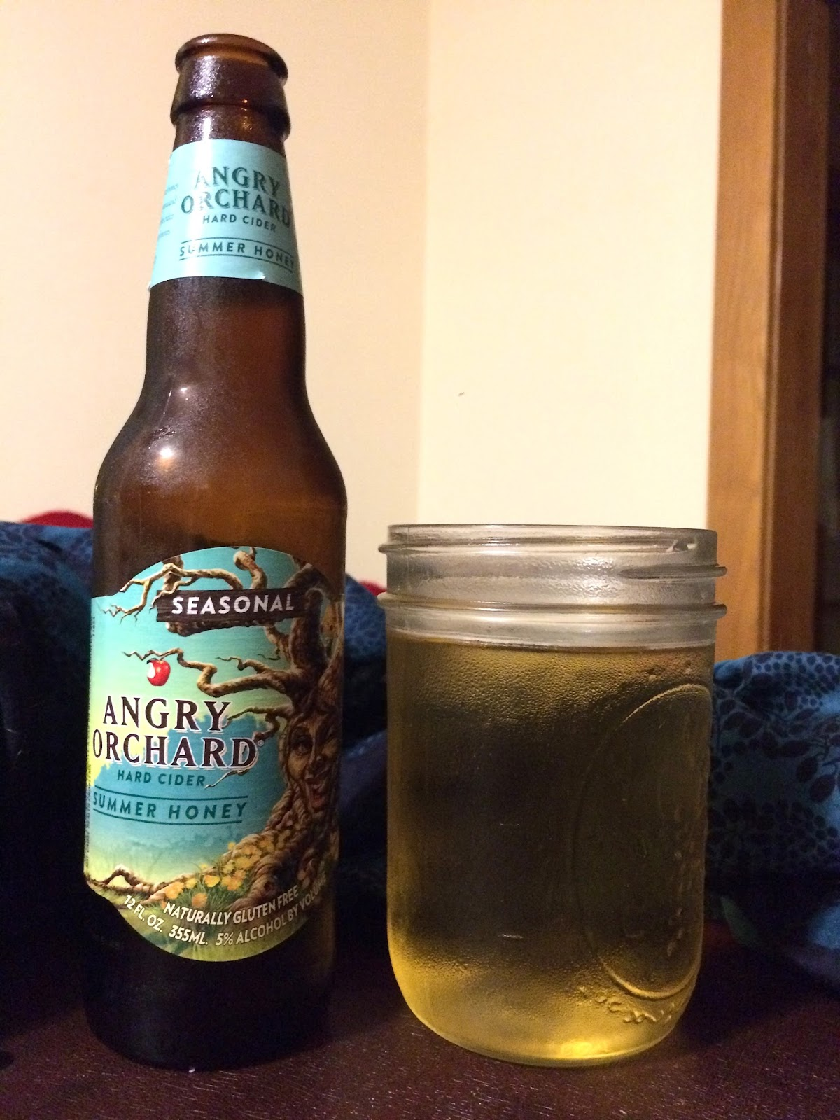 Along Came a Cider: Cider Review: Angry Orchard Summer Honey
