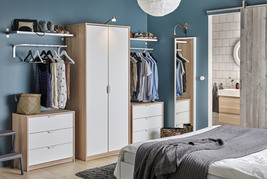 model lemari pakaian