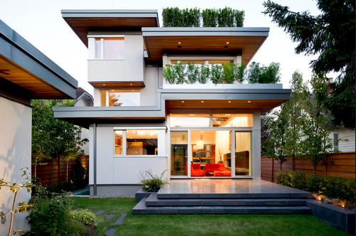 Rumah Minimalis Atap Dak Cor