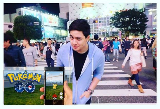 Alden Richards Joins the Pokemon Go Fever As Maine Mendoza Cheers!