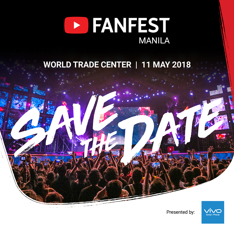 YouTube FanFest Manila 2018 co-presented by Vivo