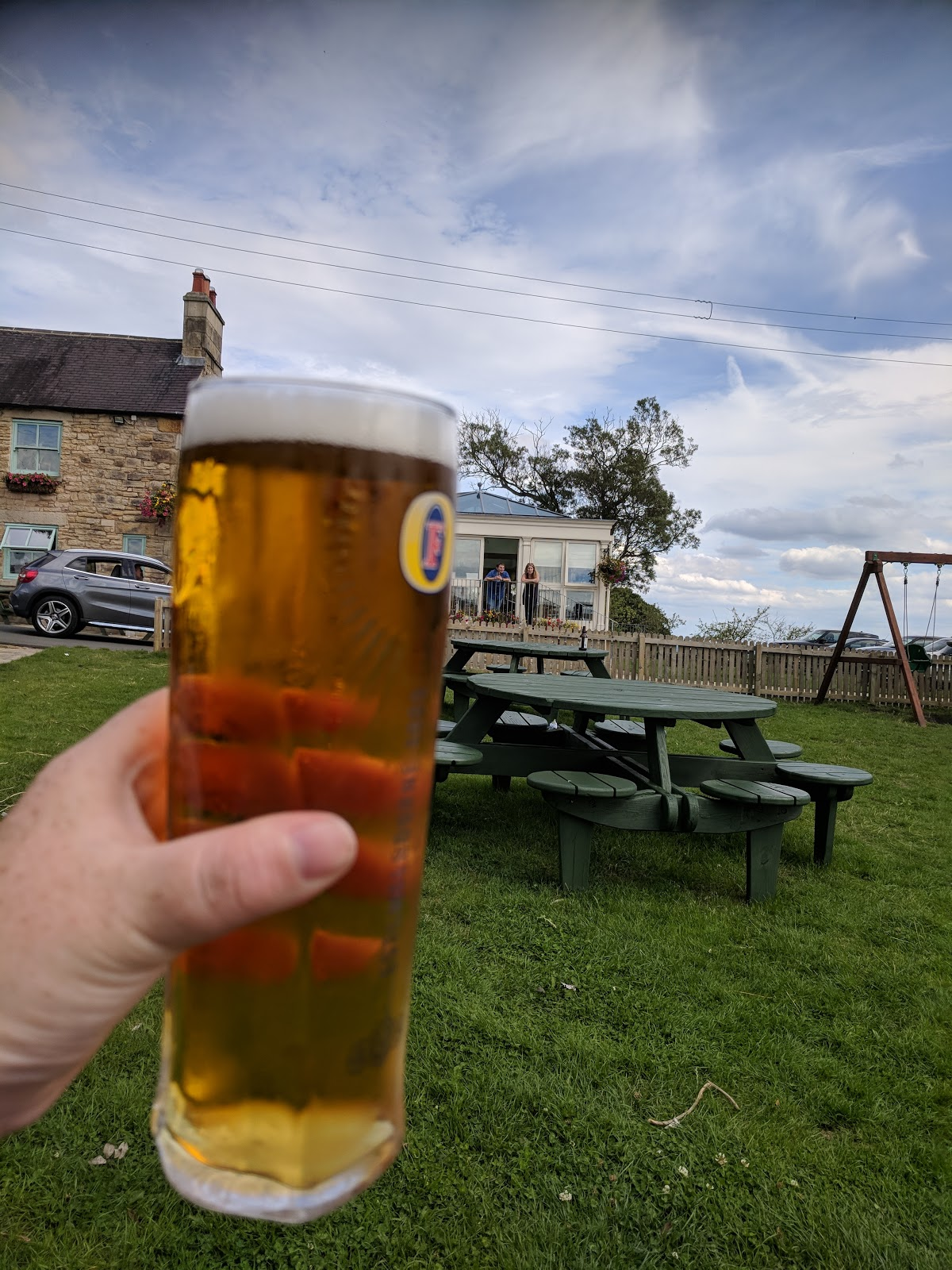 Tanfield Railway | Britain's Oldest Railway & a Picnic at Causey Arch - beer at The Black Horse Beamish
