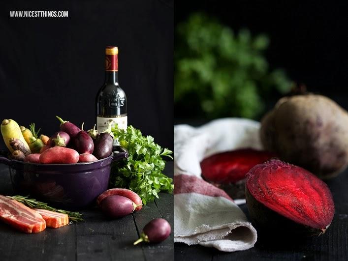 Eintopf im Brot herbstlicher Eintopf mit Chorizo, Gemüse, Speck