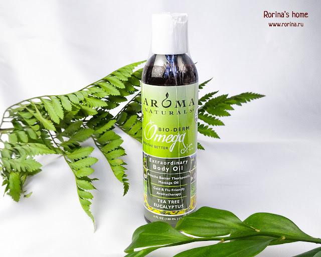 Терапевтическое масло от простуды «Облегчение дыхания» Aroma Naturals: отзывы