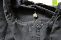 Kragen: StyleDome Damen Spitze Langarm Kragen Runde Elastische Shirt Tops