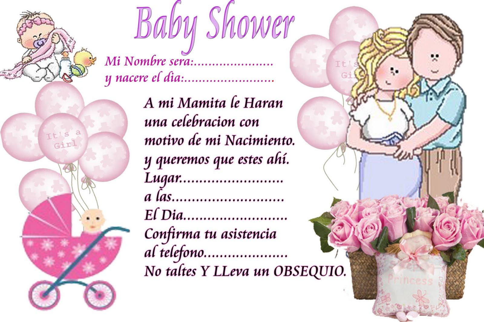 53 Invitaciones Baby Shower Gratis Personalizables
