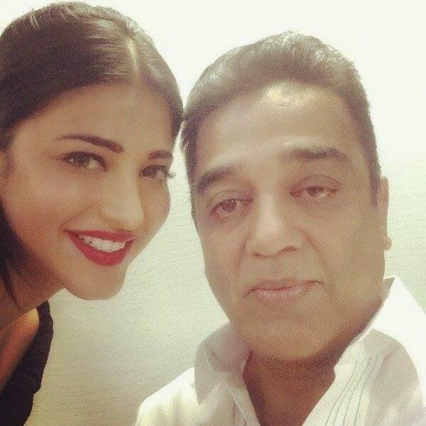 This Video Of Shruti Haasan Jamming With Father Kamal: Shruti Haasan's Selfie Collection