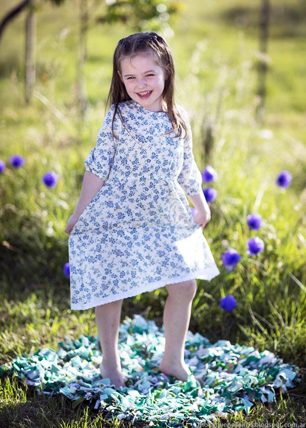 41b872f3c458 Moda infantil primavera verano 2016. Vestidos de niñas primavera verano  2016 Chichí Lelé.