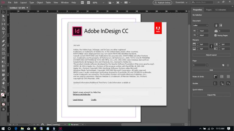 Adobe InDesign CC 2019 14.0.0 Full Free Download