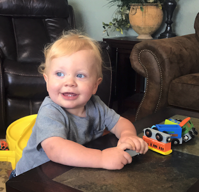 Henry Seewald, 16 months