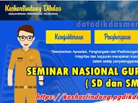Unduh PDF Pedoman Seminar Nasional Guru DIKDAS ( SD dan SMP ) 2019