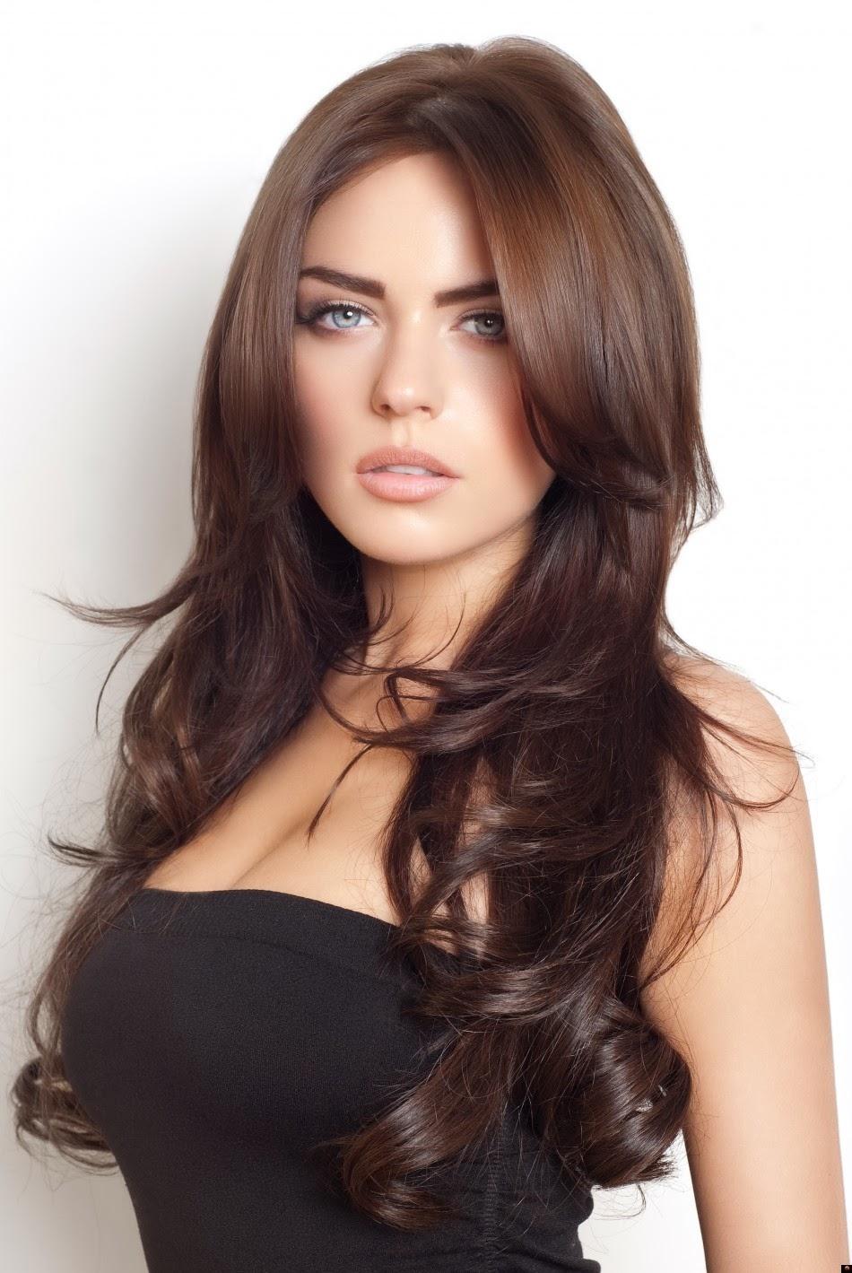brunette girl beautiful babe - photo #14