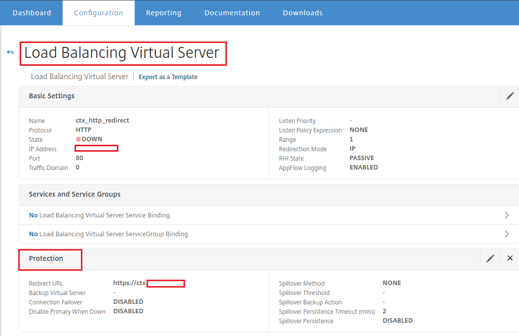 NetScaler URL Redirect Options | Citrix