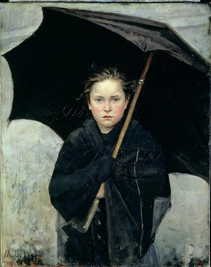 Мария Башкирцева. Зонтик